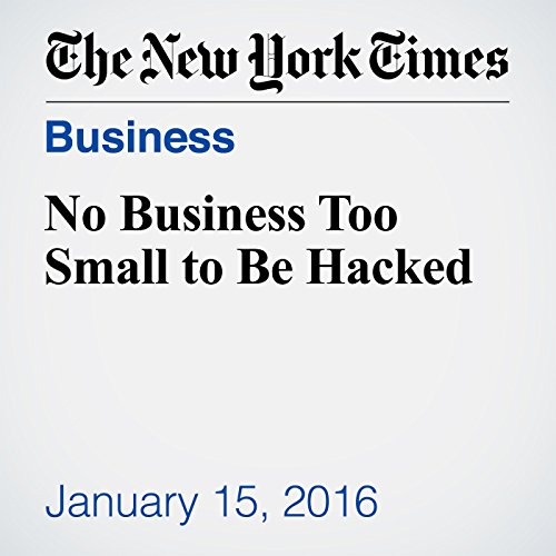 No Business Too Small to Be Hacked audiobook cover art