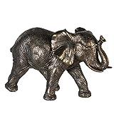 Casablanca Elefant Zambezi grau/goldfarb,Poly