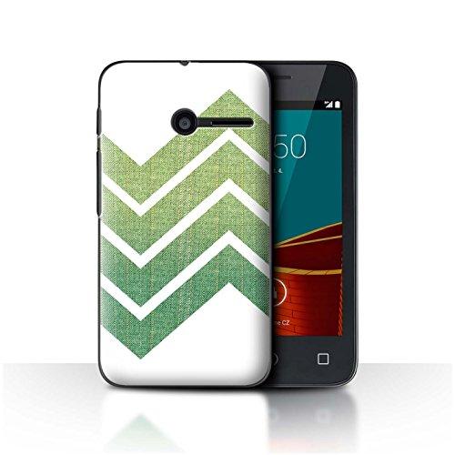 Stuff4 Var voor VD-CC Ombre Mode Vodafone Smart First 6 Zig Zag Stof