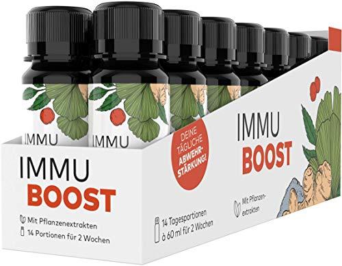 ImmuBoost® Shot | 14 Shots | 1 Tag 1 Shot | Immunsystem stärken | 2 Wochen Immunkur durch Vitamin...