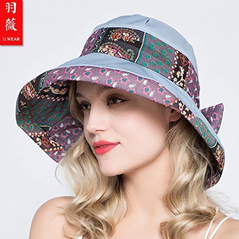 Chuiqingnet Travel travel ladies sun hat sun hat summer cool hat sun hat printing sun hat adjustable