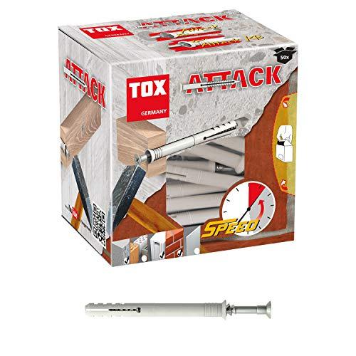 TOX Nageldübel Attack 6 x 40 mm, 50 Stück, 017102101