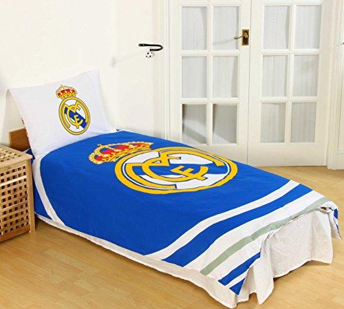 Real Madrid CF - Juego Funda edredón Almohada Individual