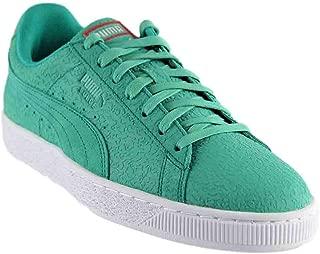 PUMA Mens Suede Caribbean Reef Casual Sneakers,