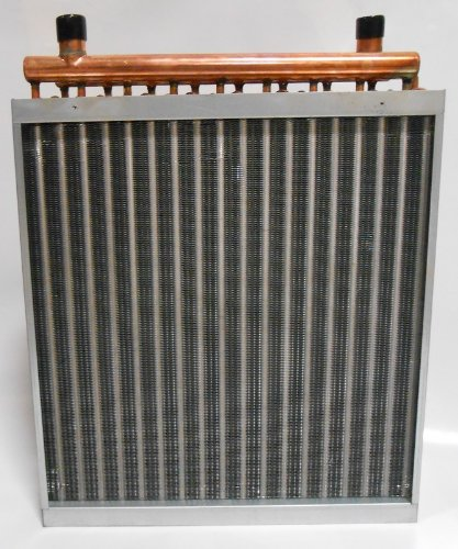 12x12 Water to Air Heat Exchanger Hot Water Coil Outdoor Wood Furnace