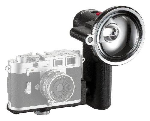 MINOX Classic Camera Auto Flash – Blitzgerät im nostalgischen Look für Digital Classic Camera Modelle - mit automatischem Lichtsensor – Inkl. Batterien