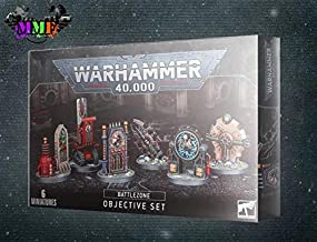 Games Workshop Warhammer 40k - Warhammer 40k - Battlesone: Manufactorum Objectives Set