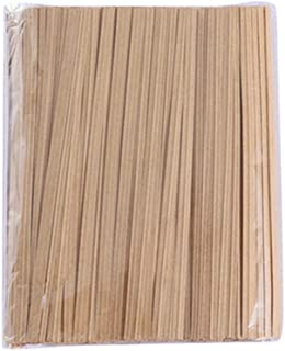 Kingsie ビニタイ 12cm クラフト紙 ラッピングタイ ツイストタイ クッキー パン袋 包装 結束用品 1000本セット