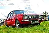 Andy Evans Photos Fotografía de Ford Cortina MK 2 clásica vintage coche de motor 45,7 x 30,4 cm paisaje foto color imagen impresión fotografía regalo recuerdo