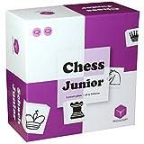 Cubes.Art 0026 Chess Junior-Das Schachspiel für Kinder-nominiert zum Besten Spielzeug des Jahres, [deutsch], Violett/weiß -