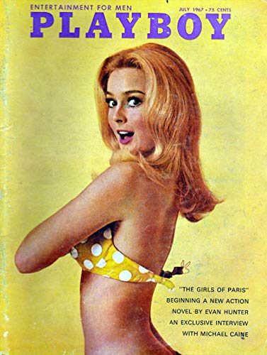 Nxsbns Playboy July 1967 - Magazine Cover Plaque Home Decor Metal Tin Sign 12' X 8'