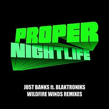 Wildfire Winds Remixes (feat. Blaktroniks)