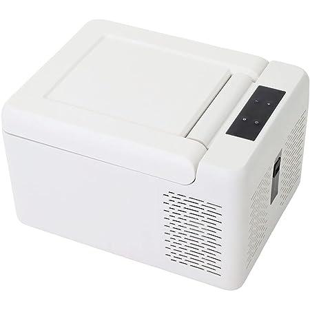 Bonarca 車載冷蔵庫 ポータブル冷蔵庫 9L 9Lー50Lの豊富なサイズバリエーション コンプレッサー式 AC100V DC12V/24V対応 CBOO9-WH