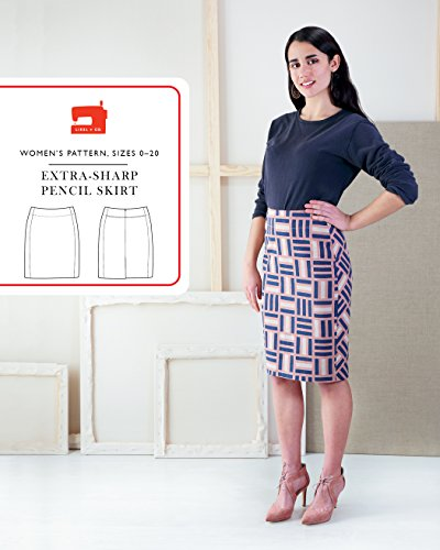 Extra-Sharp Pencil Skirt Sewing Pattern