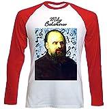 Photo de teesquare1st Men's Mily Balakirev Composer T-Shirt à Manches Longues pour Homme Size XXXLarge