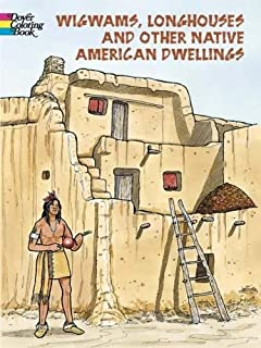 wigwam coloring page