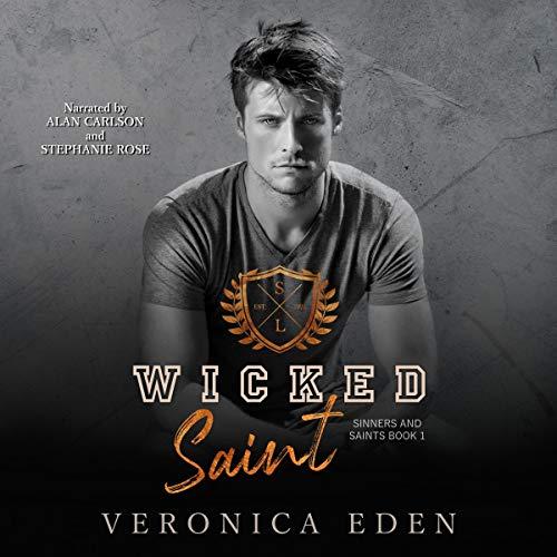 Wicked Saint: Dark New Adult High School Bully Romance Titelbild