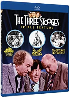 Three Stooges Collection Volume 2 Triple Feature: (The Three Stooges Meet Hercules / Three Stooges Go Around The World In A Daze / The Outlaws Is Coming)