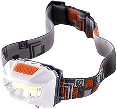 Docooler LED strålkastare ficklampa arbetslampa ultralätt vit belysning pannlampa med 3 belysningslägen för fiske utomhus ...