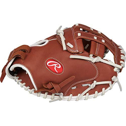 Rawlings R9 Series Fastpitch Softball Catchers Mitt, Pro H Web, 33 inch, Right Hand Throw