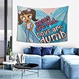 Y2k Girl Aesthetic Tapestry Wall Hanging Tapestries As Wall Blanket Wall Art And Room Decor For Bedroom Living Room Dorm 60x40 Inch