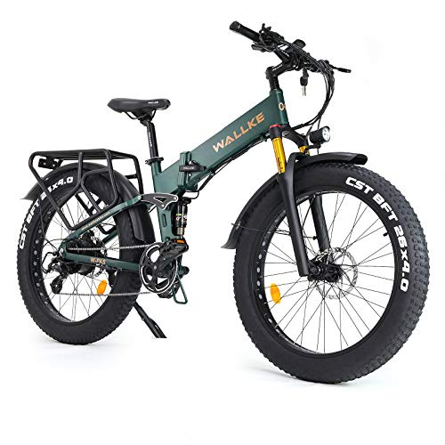 W Wallke X3 Pro 26 inch 48V Lithium Battery Mountain Electric Bike for Adult