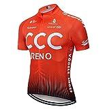Maillot Ciclismo Verano Hombre MTB Ropa Ciclismo para Bicicleta Montaña Ropa de Equipo Profesional