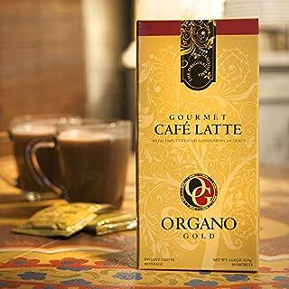 Organo Gold (6) Box Gourmet Café Latte Coffee + (8) Green Tea Sample Sachet