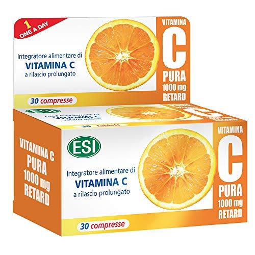 ESI Vitamina C Pura 1000 mg Retard - 30 Compresse