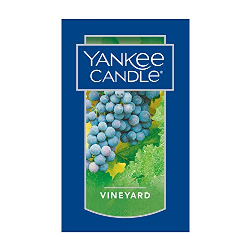 Yankee Candle Vineyard Scented Premium Paraffin Grade Candle Wax with up to 150 Hour Burn Time, Large Jar