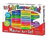 The Pencil Grip Kwik Stix Master Art Set 60 Colors TPG-690, Assorted Colors