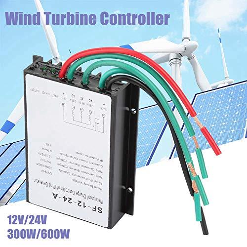 Controlador de carga de viento 12V / 24V 300W / 600W,