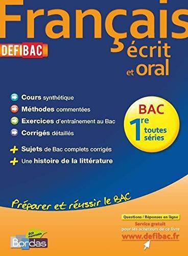 DEFIBAC FRANCAIS 1RES