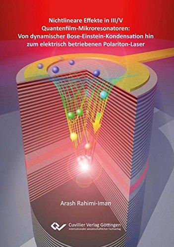 Nichtlineare Effekte in III/V Quantenfilm-Mikroresonatoren: Von dynamischer Bose-Einstein-Kondensation hin zum elektrisch betriebenen Polariton-Laser