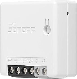 SONOFF ZBMINI ZigBee Smart Switch, 2 Way ZigBee switch, Compatibel Met Alexa, SmartThings Hub, Google Home, SONOFF ZBBridg...