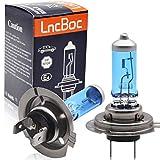 LncBoc H7 Halógena Bombilla Lámparas Halógenas Faro Delantero del Coche Lámparas Luces de Coche 12V 55W Paquete de 2