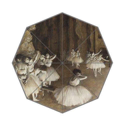 Flipped Zomer Ballerina Schilderij Kunst Aangepaste Kunst Prints Paraplu