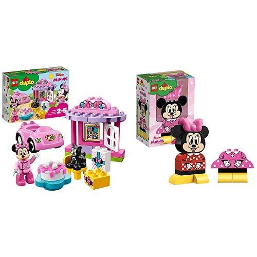 Lego Duplo, La Festa Di Compleanno Di Minnie, 10873 & Duplo La Mia Prima Minni Gioco Per Bambini, Multicolore, 10897
