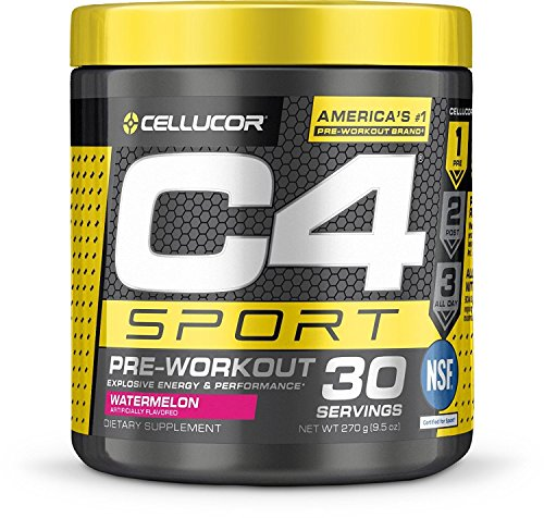 Cellucor C4 Sport Pre Workout Powder Sports Hydration & Energy Drink Supplement with Creatine Monohydrate & Beta Alanine