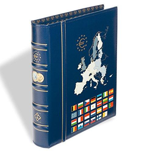 Leuchtturm 326196Deckel Ringbinder Optima, Motiv Classic Euro Gravierungen im Rücken und im Deckel