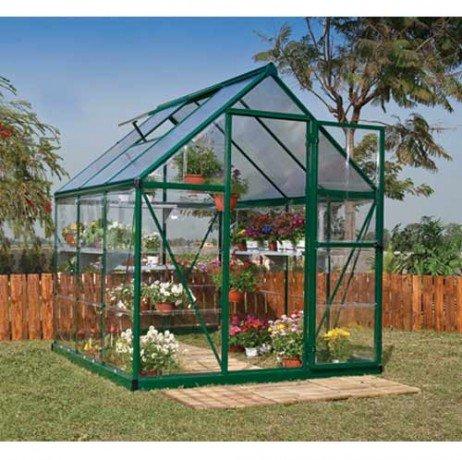 Palram Hybrid - Invernadero de 3, 44 m²- Hybrid6x6_4: Amazon.es: Jardín
