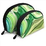 Egrame Zusammenfassung Türkis Lindgrün wirbelt personalisierte tragbare Clutch Bag Shell Form für...