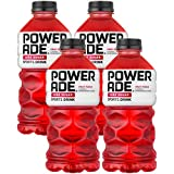 Powerade Zero Red Fruit Punch, Zero Calorie Sports Drink, 28oz Bottle (Pack of 4, Total of 112 Oz)
