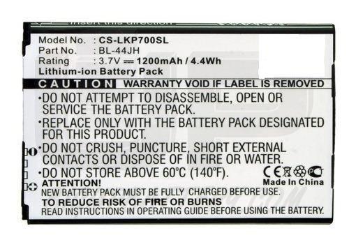 Bateria BL-44JH para LG Optimus L7