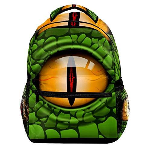 TIZORAX Zaino Subacqueo Danger Shark Scuola Zaino College Bag Bookbag Escursionismo Viaggio Zaino per Donna Uomo Motivo 2 29.4x20x40cm/11.5x8x16 in