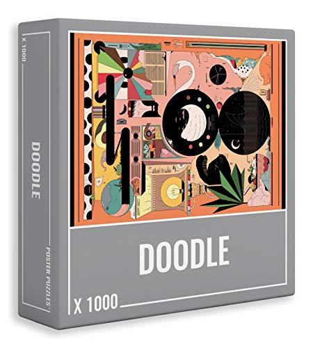 Doodle Puzzle 1000 Teile: Cooles, Anspruchsvolles Puzzle für Erwachsene!
