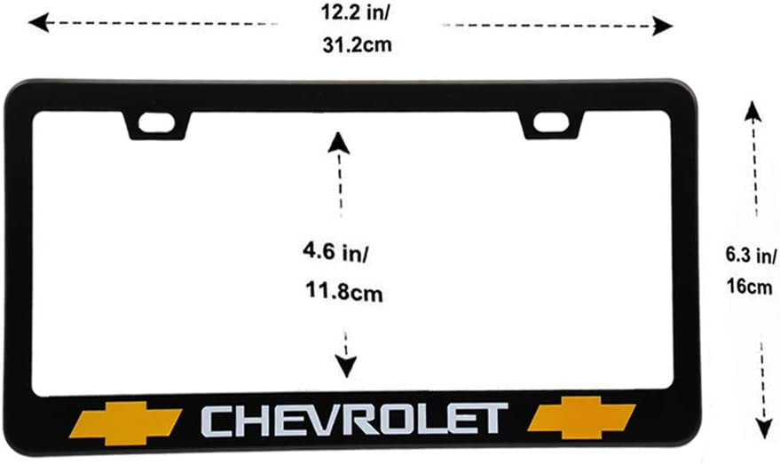 Suitable for American Standard Cars License Plate Land Rover Vehicles 2 Pieces of Land Rover Luxury Car Matte Black Aluminum Alloy License Plate Frame