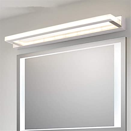 24 w 100 cm luz c/álida Luz de ba/ño impermeable antiniebla espejo de acero inoxidable linterna LED ba/ño llev/ó luz