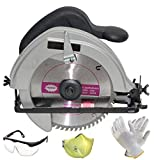 Digital Craft 1250 W Portable Electric Circular Saw Woodworking Chainsaw for Wood Industrial