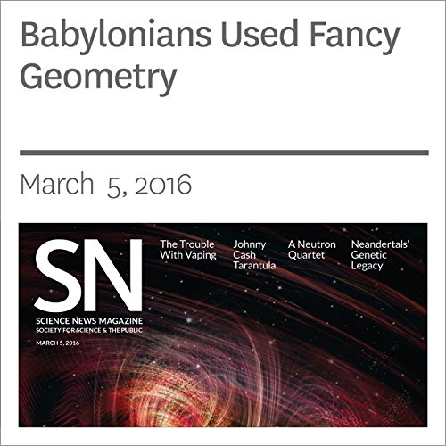 Babylonians Used Fancy Geometry audiobook cover art
